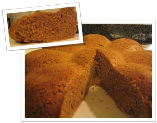 Torta con la farina di castagne