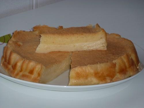 Torta magica (metà budino e metà torta)