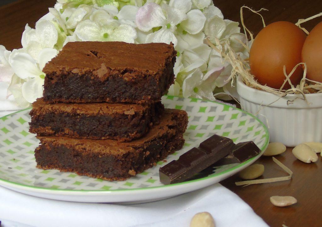 Torta al cioccolato fondente e mandorle